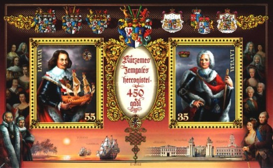 [The 450th Anniversary of the Duchy of Courland and Semigallia, Typ ]