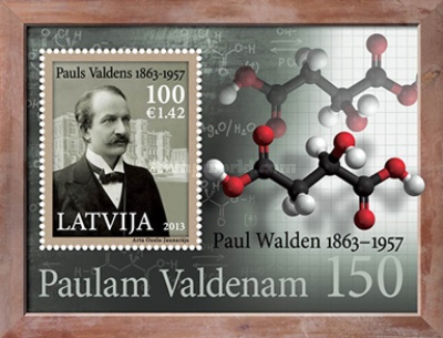 [The 150th Anniversary of the Birth of Paul Walden, 1863-1957, Typ ]