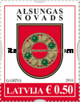 [Coat of Arms of Latvia, Typ ABO]