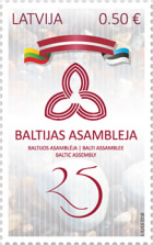 [The 25th Baltic Assembly - Joint Issue with Estonia and Lithuania, Typ ACN]
