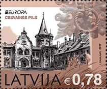 [EUROPA Stamps -  Palaces and Castles, Typ ADC]