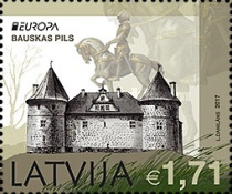 [EUROPA Stamps -  Palaces and Castles, Typ ADD]