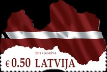 [Map of Latvia, Typ AEH]