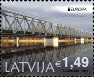[EUROPA Stamps - Bridges, Typ AEJ]