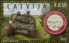 [The 100th Anniversary of the Latvian Army, Typ AFS]