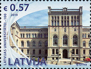 [The 100th Anniversary of the University of Latvia, type AFY]