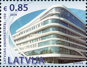 [The 100th Anniversary of the University of Latvia, type AFZ]