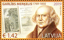 [The 250th Anniversary of the Birth of Garlieb Merkel, 1769-1850, Typ AGB]