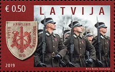 [The 100th Anniversary of the Latvian National Armed Forces Staff Battalion, Typ AGG]