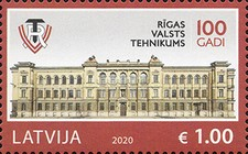 [The 100th Anniversary of Riga State Technical School, type AGM]