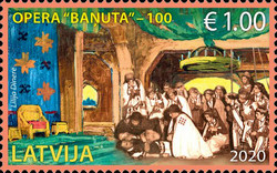 [The 100th Anniversary of the Opera Baņuta, type AGV]