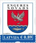 [Definitives - Coat of Arms - Cities and Regions of Latvia, type AHG]