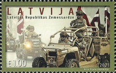 [The Latvian National Guard, type AHW]