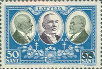 [No. 150-159 Overprinted New Values, type BF8]