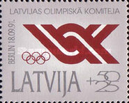 [Recognition of Latvian Olympic Committee, type DJ]