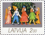 [Christmas Stamps, type DS]