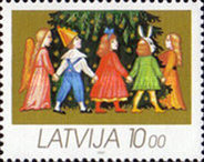 [Christmas Stamps, type DU]