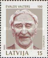 [The 100th Anniversary of the Birth of Evalds Valters, Typ EH]