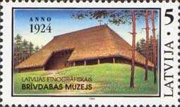 [The 70th Anniversary of Latvian Ethnological Museum, Typ EN]