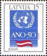 [The 50th Anniversary of the United Nations, Typ FM]
