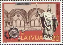 [The 800th Anniversary of Riga, Typ IF]