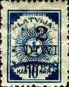 [No. 7 & 16 Overprinted New Value, Typ J]