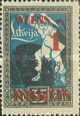 [Liberation of Kurzeme Overprinted New Values, Typ K]
