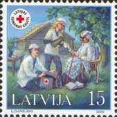 [Latvian Red Cross, type KQ]