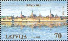 [The 800th Anniversary of Riga, Typ LF]