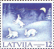 [Christmas Stamps, Typ LR]