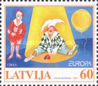 [EUROPA Stamps - The Circus, Typ MB]