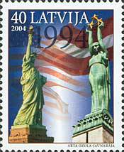 [The 10th Anniversary of The President of the U.S.A. Visiting Riga, Typ NY]