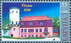 [The 800th Anniversary of Cesis, Typ PW]