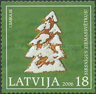 [Merry Christmas - Self Adhesive Stamps, Typ QM]