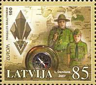 [EUROPA Stamps - The 100th Anniversary of Scouting, Typ QZ]