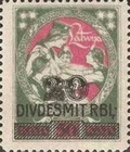 [No. 28 Overprinted New Values, Typ R1]