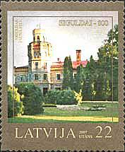 [The 800th Anniversary of Sigulda - Self-Adhesive Stamps, Typ RD]
