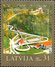 [The 800th Anniversary of Sigulda - Self-Adhesive Stamps, Typ RE]