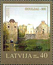 [The 800th Anniversary of Sigulda - Self-Adhesive Stamps, Typ RF]