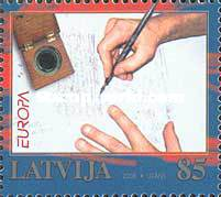 [EUROPA Stamps - Writing Letters, Typ SF]