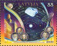 [EUROPA Stamps - Astronomy, Typ TF]