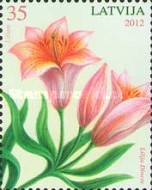 [Flowers - Painting by Lilija Dinere, Typ WB]