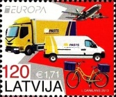 [EUROPA Stamps - Postal Vehicles, Typ XI]