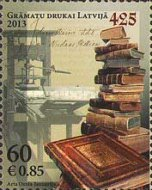 [The 425th Anniversary of Printing in Latvia, Typ XV]