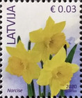 """[Flowers - Year """"2020"""" on Stamps, type YC2]"""