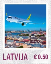[Aviation - Personalized Stamps, Typ YM]