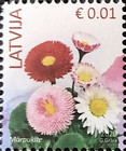 """[Flowers - Year """"2020"""" on Stamps, type YT5]"""