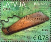 [EUROPA Stamps - Musical Instruments, Typ YZ]