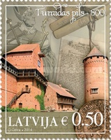 [The 800th Anniversary of Turaidas Pils Castle, Typ ZJ]
