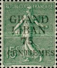 "[French Postage Stamps Surcharged & Overprinted ""GRAND - LIBAN"", type A3]"